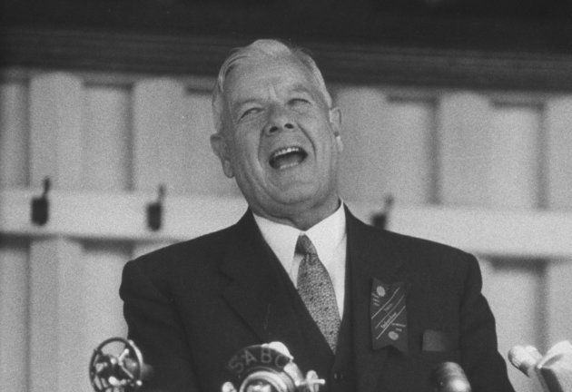 Dr HF Verwoerd, 'architect of apartheid' and SA prime minister, 1958-1966 — and the author's