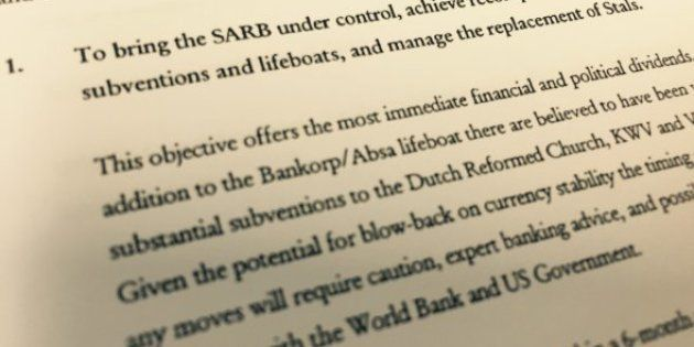 One of the objectives that could be reached by recovering the Absa money, according to