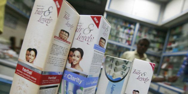 Skin-lightening products are easy to come buy at informal markets and even some