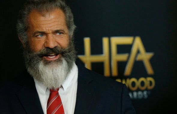 Actor Mel Gibson arrives at the Hollywood Film Awards in Beverly Hills, California, U.S., November 6,