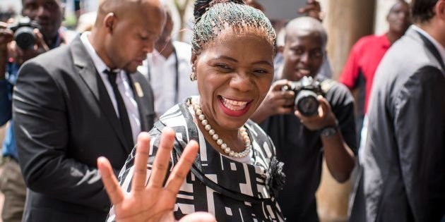 Former Public Protector Thuli Madonsela... she was stonewalled at every turn when she interviewed President...
