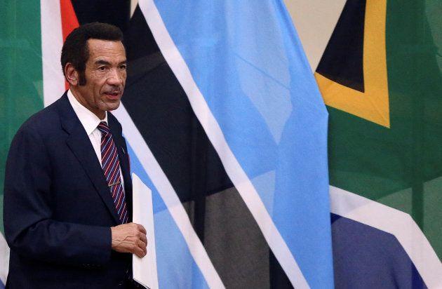 Botswana's former president Ian