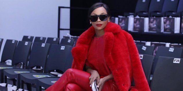 Bonang Takes On SA Fashion Week And Leaves Us