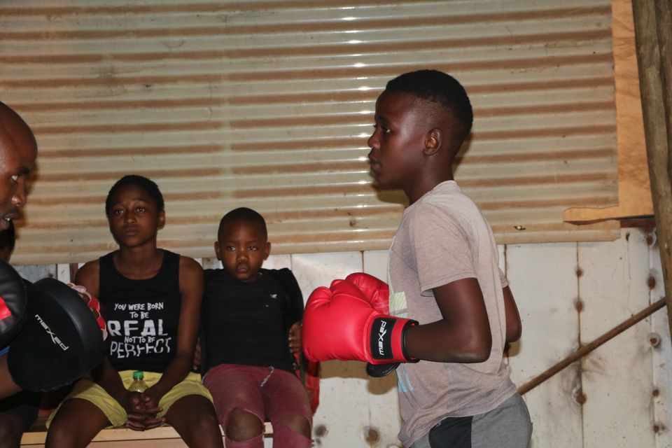 Boxing Club Keeps Kids Off The Streets Huffpost Uk