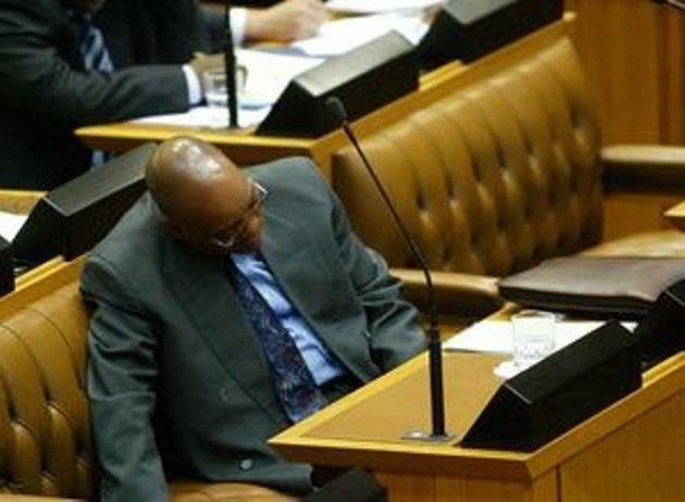 Missed The Mini-Budget Speech? So Did Ubaba kaDuduzane And Other 'Sleepist'