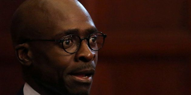 South Africa's finance minister, Malusi
