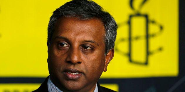 Amnesty International's Secretary General Salil