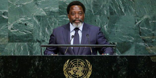 Joseph Kabila Kabange, President of the Democratic Republic of the Congo, addresses the 72nd United Nations...