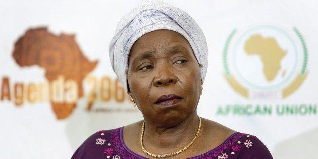 Nkosazana Dlamini-Zuma spoke out against Trump's visa ban for individuals from seven Muslim-majority