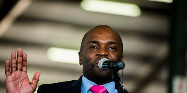 City of Tshwane executive mayor Solly