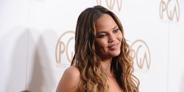 Chrissy Teigen attends the 28th annual Producers Guild