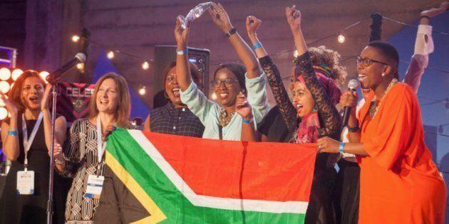 SA Team Wins 2017 TechWomen Pitch in Silicon