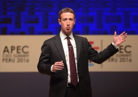 Facebook CEO and chairman Mark