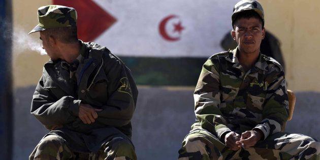Resultado de imagen de police saharawi refugee