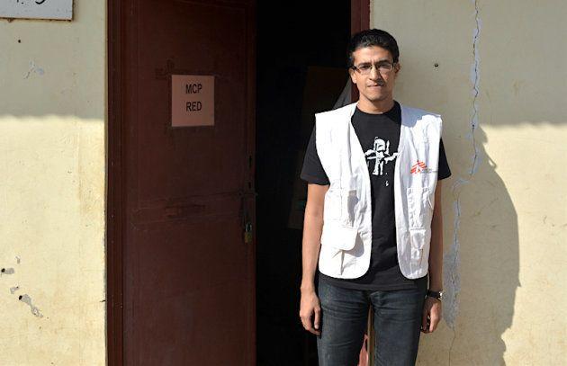 MSF surgeon, Dr. Shadi