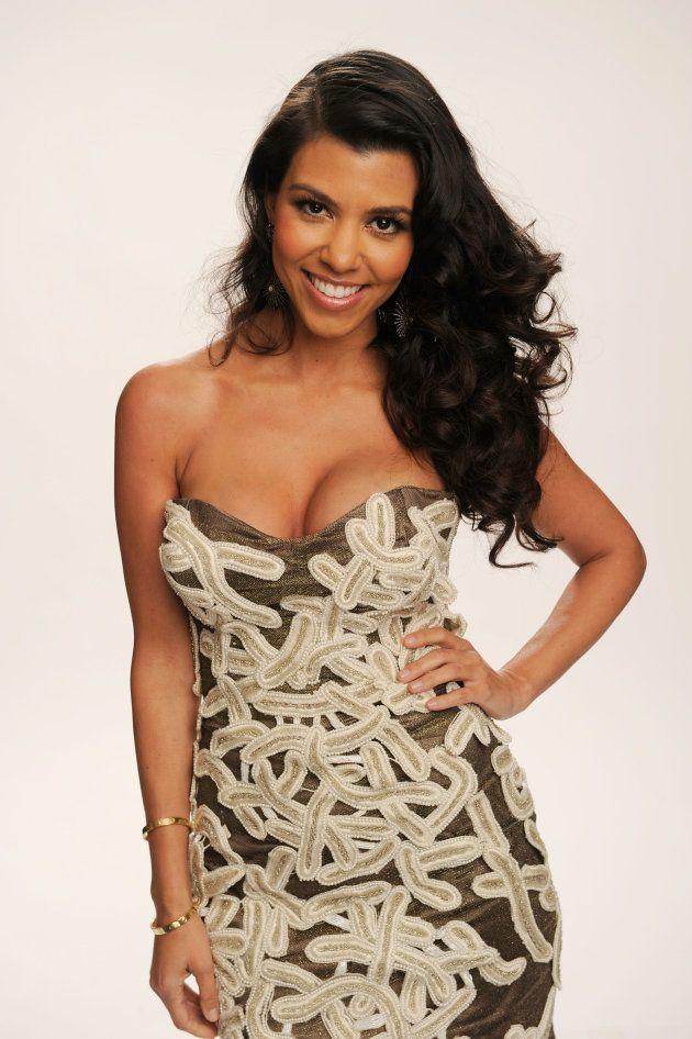 LOS ANGELES, CA - JANUARY 05: TV personality Kourtney Kardashian, winner of the Favorite TV Guilty Pleasure...