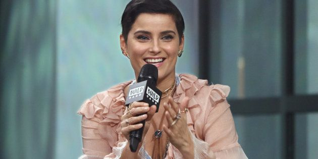 NEW YORK, NY - JANUARY 27: Singer/songwriter Nelly Furtado attends the Build series to discuss 'The Ride'...