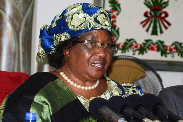Former Malawian president Joyce Banda - whose voluntary pay cut didn't save her when she was implicated...