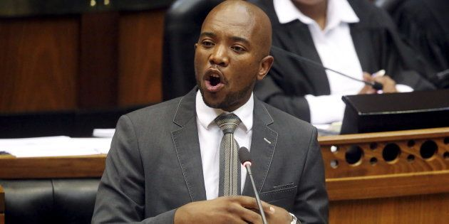 South Africa's opposition Democratic Alliance (DA) leader Mmusi