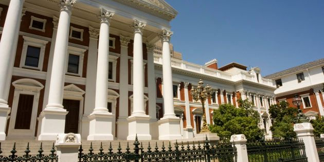 South Africa's Parliament building in Cape