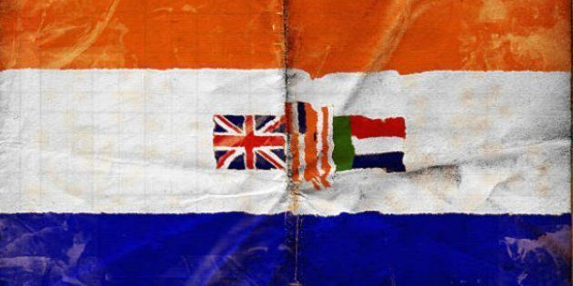 The Shadow Of The Oranje Blanje Blou At
