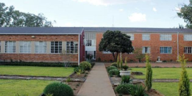 The hostel at Hoërskool