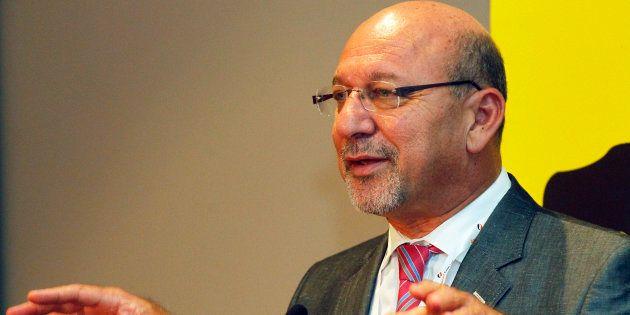 Former finance minister Trevor