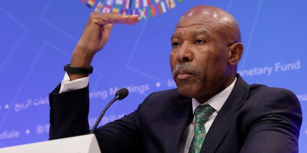 South African Reserve Bank Governor Lesetja