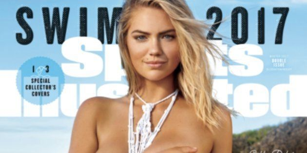 Twitter Points Out Kate Upton Isn't Even Wearing A Swimsuit On Sports Illustrated 'Swimsuit'