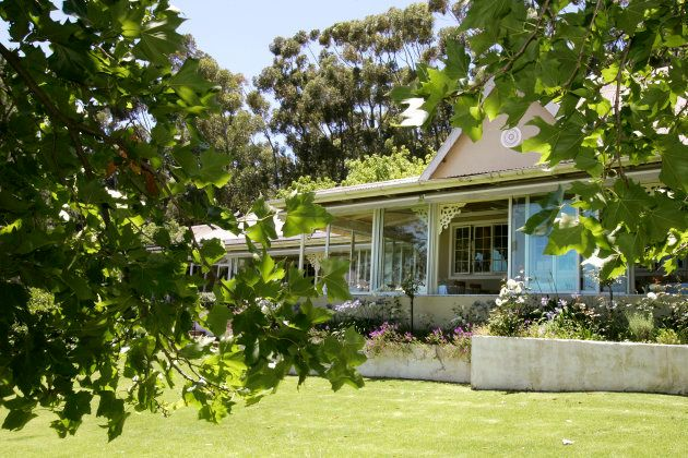 Luxury guesthouse and restaurant, La Petite Ferme in Franschhoek, is part of South Africa's Cape Wine