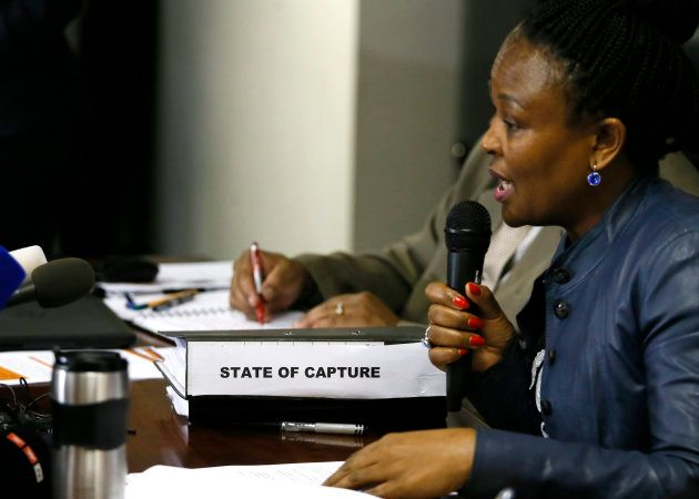 South Africa's Public Protector Busisiwe