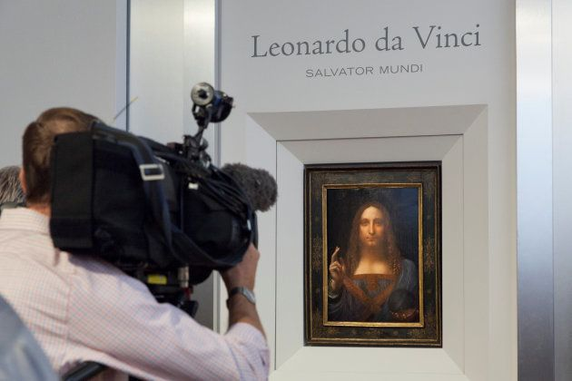 The portrait pictured at Christie's auction