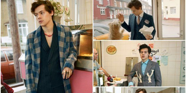 55cddfa3499 Harry Styles  Gucci Tailoring campaign is everything fashionistas hoped