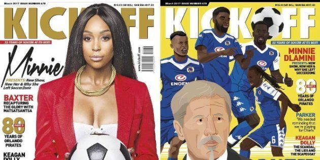 There Is NO Reason For Minnie Dlamini To Have Been The First Woman On The Cover Off KickOff