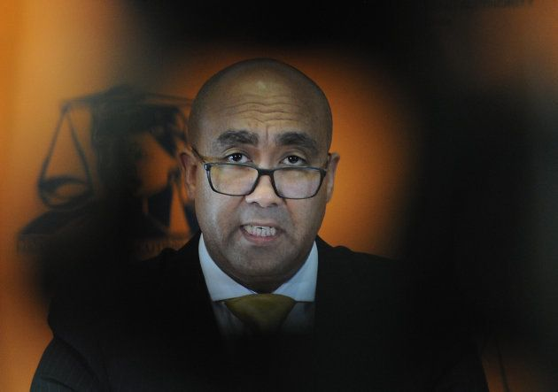 National Prosecuting Authority (NPA) boss; advocate Shaun