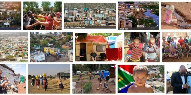 Here's Why A Google Search For 'Squatter Camps In SA' Shows Mainly