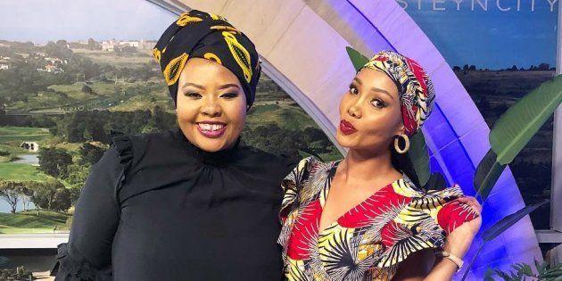 Anele Mdoda and Azania