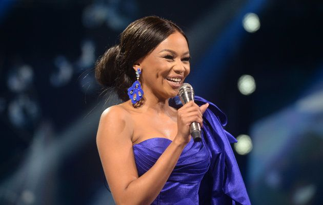 PRETORIA, SOUTH AFRICA MAY 27: (SOUTH AFRICA OUT) TV personality Bonang Matheba during the Miss SA 2018...