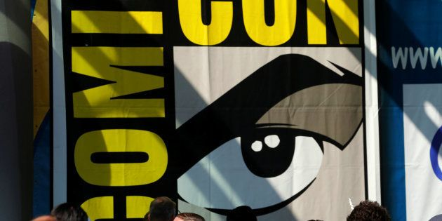 Fans of superhero movies, comic books and pop culture arrive in costume at the annual Comic-Con International...