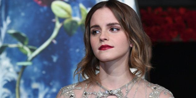 SHANGHAI, CHINA - FEBRUARY 27: British actress Emma Watson attends the premiere of American director...