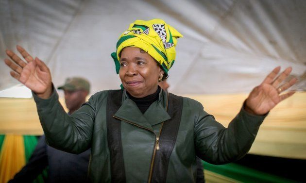 Candidate for South Africa's ruling party leadership Nkosazana