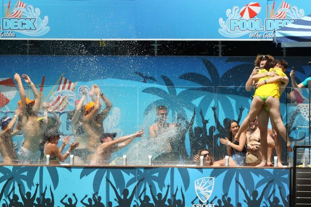 There was plenty of celebration when the pool-side 'yes' was