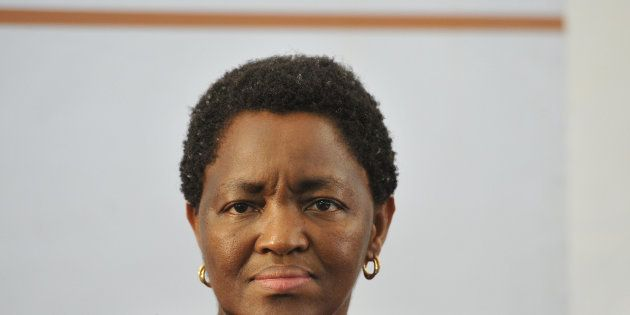 BLOEMFONTEIN, SOUTH AFRICA - DECEMBER 2(SOUTH AFRICA OUT): Minister of Social Development, Ms Bathabile...
