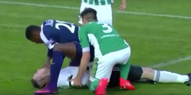 Somehow, Togolese Footballer Francis Koné Has Now Saved Four People After On-Field