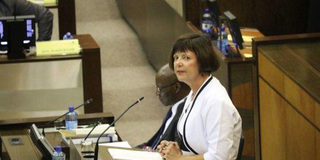 Gauteng Finance MEC Barbara