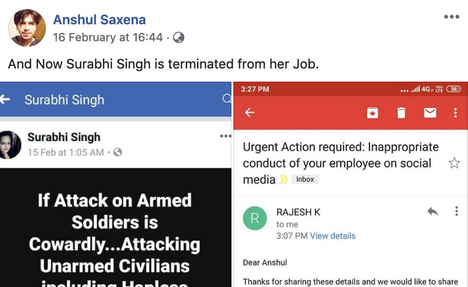 Rape Threats, Fake News, Mob Violence: How Right Wingers Attacked People For Facebook Posts After Pulwama