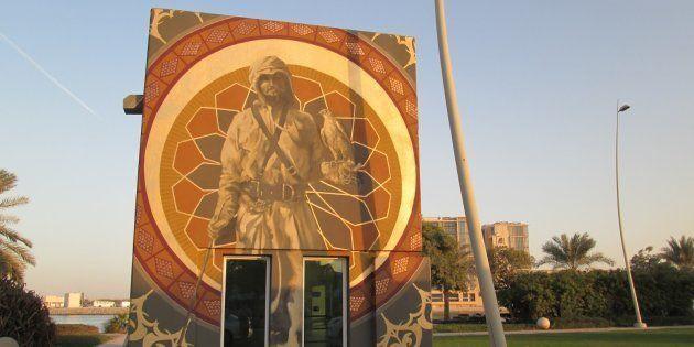 South African Graffiti Artist Lights Up Abu