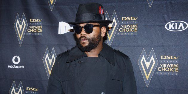 Sjava during the inaugural DStv Mzansi Viewers Choice Awards (DStvMVCA) event at the Sandton Convention...