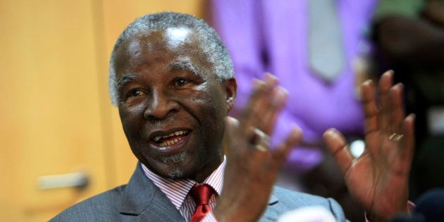 Mbeki Received A Hero's Welcome At A Gathering Celebrating The 14th Birthday Of His African Peer Review