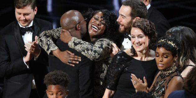 89th Academy Awards - Oscars Awards Show - Hollywood, California, U.S. - 26/02/17 - Joi McMillon and...